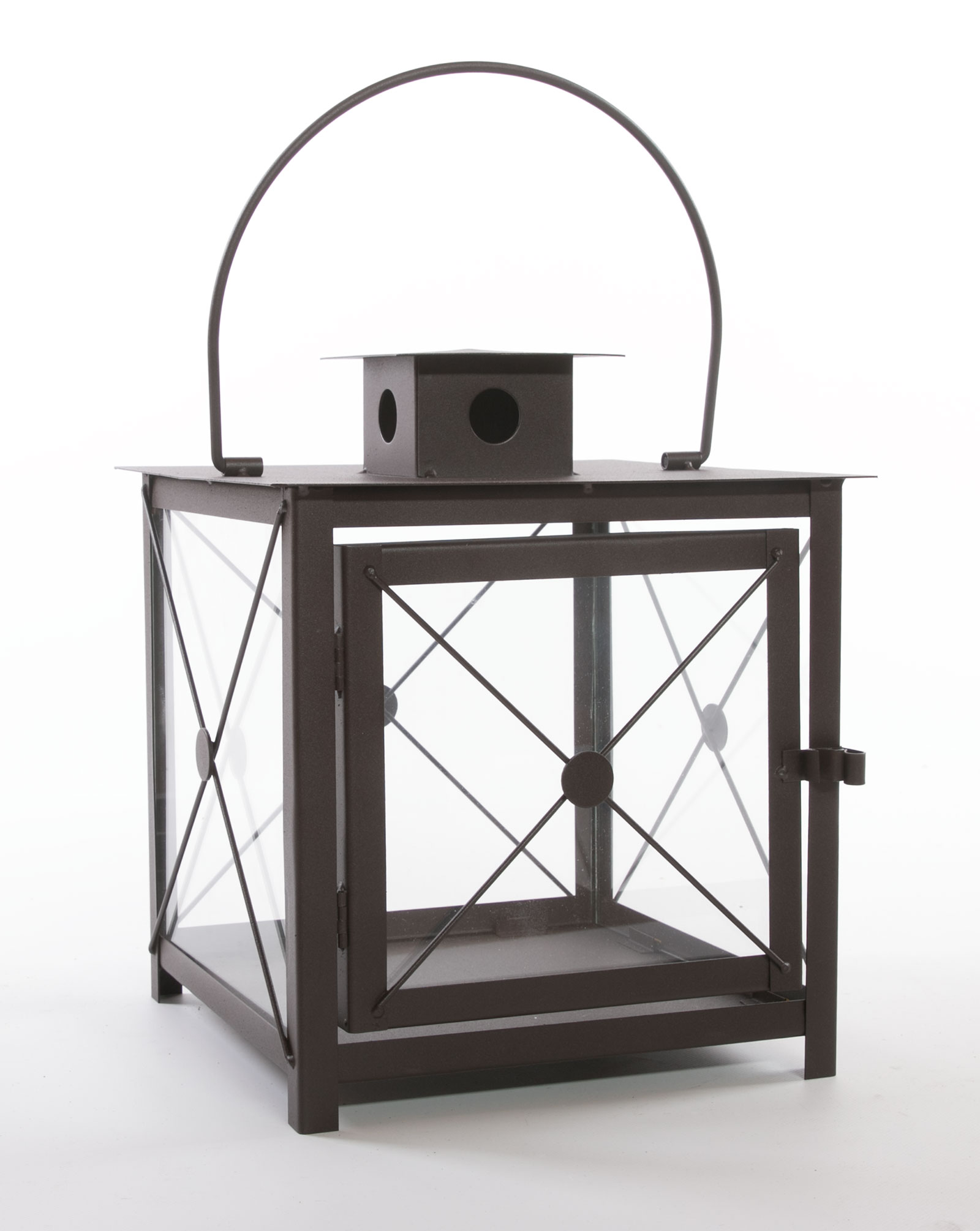 laterne metall braun nixon windlicht metalllaterne. Black Bedroom Furniture Sets. Home Design Ideas