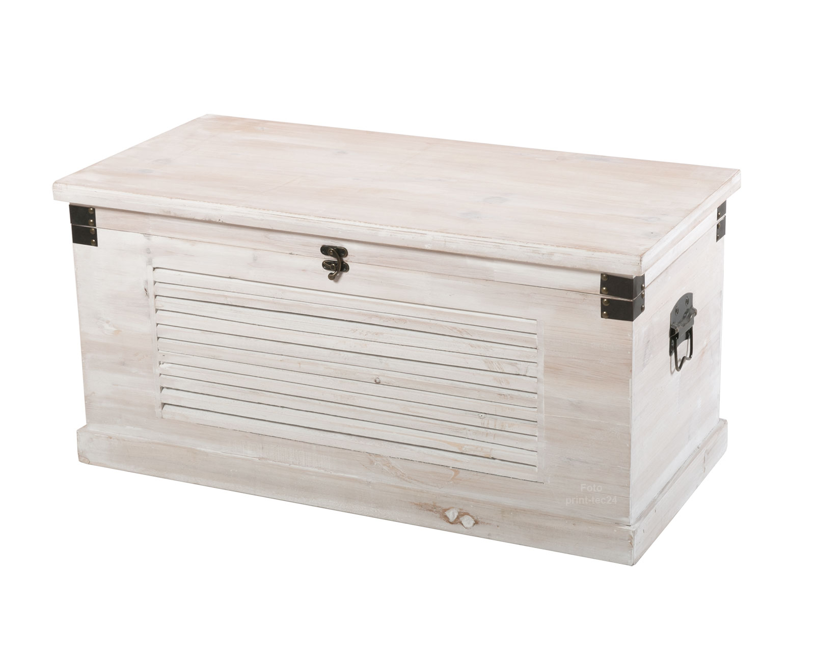 holztruhe w schetruhe truhe holz gartentruhe gartenbox holzbox antik wei ebay. Black Bedroom Furniture Sets. Home Design Ideas