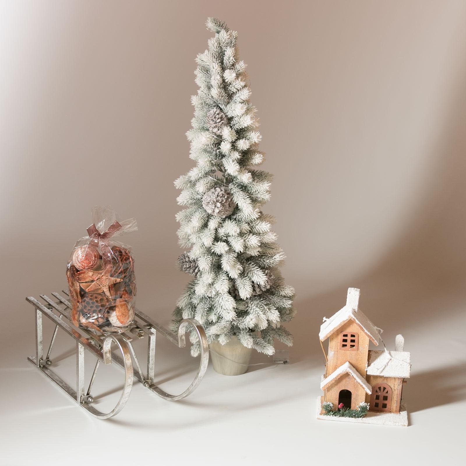 Ausgefallene Deko Silber: Deko Schlitten Metall Silber Dekoschlitten Weihnachten
