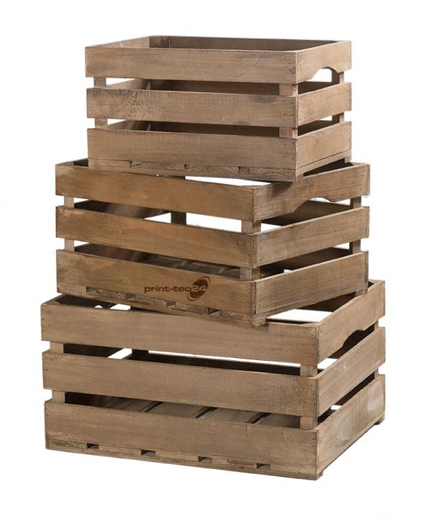 weinkisten holz braun holzkisten aufbewahrungsboxen kisten dekoideen - Dekoideen Kisten